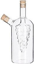 SECRET DE GOURMET Glass Oil and Vinegar Carafe, 2