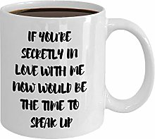 Secretly in Love with You Coffee Mug Secret