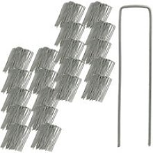 Securing Pegs Set of 500, Stainless, Bevelled