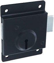 Securit - Press Lock Door Deadlock 75mm
