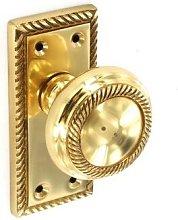 Securit S2115 Georgianmortice Latch Knob Latch