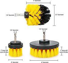 seductive GF 2/3.5/4/5' Scrubber Brush Drill