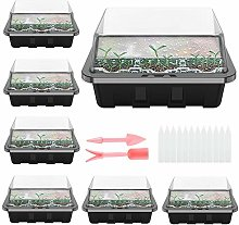 Seed Trays with Lids 12 Cells Seed Starter Tray