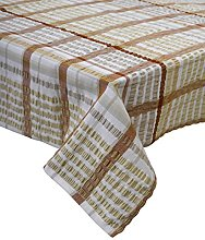 Seersucker 100% Cotton Tablecloths Kitchen Picnic