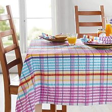 Seersucker Tablecloth L228 X W127cm by Coopers of