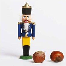 Seiffener Volkskunst - Nutcracker Mini Blue - wood