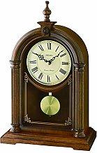 Seiko Alder Wood Mantel Clock with 2 x Chimes