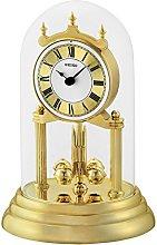 Seiko Anniversary Clock with Rotating Pendulum,
