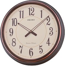 Seiko Antique Copper Chime Wall Clock