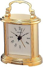 Seiko Brass Mantle clock with Beep alarm.