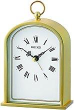 Seiko Gold Finish Mantel Mantle Carriage Clock