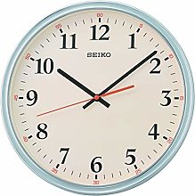 Seiko Grey Cased Wall Clock with Cream Dial and