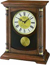 Seiko Melody Mantel Clock with Pendulum, Wood,