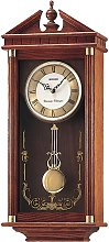 Seiko Oak Dual Chime Pendulum Wall Clock