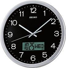 Seiko Plastic Calendar Wall Clock.