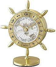 Seiko QHG107G Rudder Desk Clock
