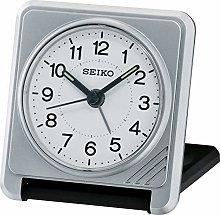 Seiko QHT015S Travel Alarm Clock-Silver