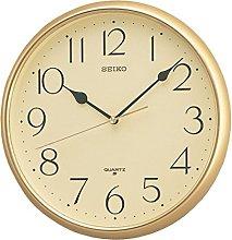 Seiko Quartz Wall Clock with Arabic Numerals,