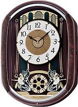 Seiko QXM297B Motion Wall Clock 12 Melodies & 14