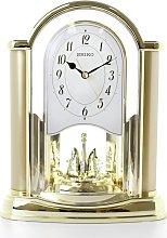 Seiko Rotating Pendulum Mantel Clock - Gold
