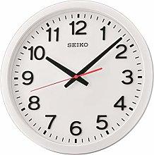 Seiko Wall Clock, White, One Size