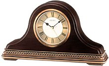 Seiko Wooden Mantel Clock QXE017B Brand New