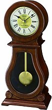 Seiko Wooden Pendulum Mantle/Mantel Quartz Battery
