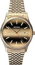 Sekonda Men's Gold Plated Steel Bracelet Watch