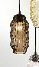 Selene Origami Chandelier 70 W, Taupe