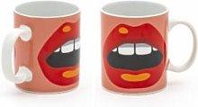 Seletti - X STUDIO JOB Mug - Set of 2 (2 variants)