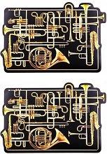 Seletti - X TOILETPAPER Trumpets Table Mat - Set