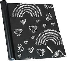 Self-Adhesive Blackboard, Chalk Wall Sticker,