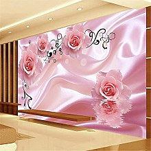 Self-Adhesive Custom 3D Wall Wall Wallpaper Yellow