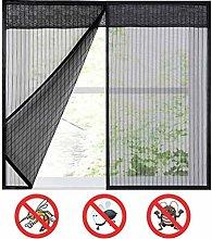 Self-Adhesive Tape Mesh Window Curtains, Mosquito