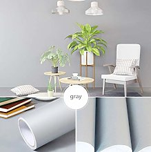 Self Adhesive Wallpaper Child Gray Contact Paper