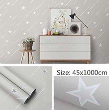 Self Adhesive Wallpaper Child Gray Meteor Contact