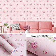 Self Adhesive Wallpaper Child Pink Contact Paper