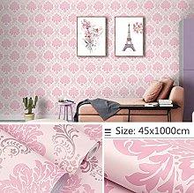 Self Adhesive Wallpaper Child Pink Pastoral