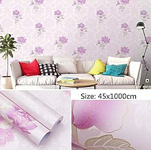 Self Adhesive Wallpaper Child Purple Pastoral