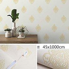 Self Adhesive Wallpaper Child Yellow Pastoral