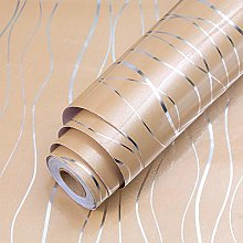Self Adhesive Wallpaper Golden Furniture Film Made