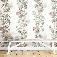 Self Adhesive Wallpaper with Vintage Flowers