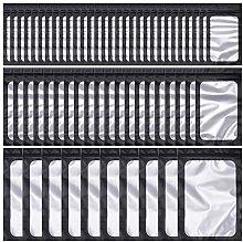 SelfTek 100 Pieces Resealable Ziplock Mylar Bags 3