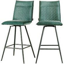 Selsey Carlyn - Modern Set of Two Bar Stools -
