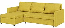 Selsey L-Shaped Corner Lounge/Sofa Bed with