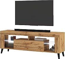 Selsey TV lowboard, Lancaster Oak Matt, mit LED
