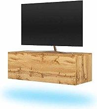 Selsey TV lowboard, Wotan Oak, 100 cm