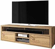 Selsey TV lowboard, Wotan Oak, 137 x 33 x 42,5