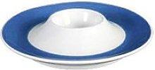 Seltmann Weiden 'Trio Blue' Egg Cup Plate