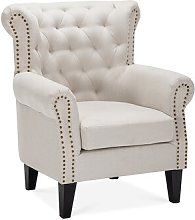 Seminole Wingback Chair Ophelia & Co. Upholstery